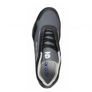 Sparco Shoes Jerez Black/Grey Shoes Sneakers Picture8: Designed for ultimate street durability and performance, Sparco Jerez Black/Grey Shoes is what you'd expect in a competition driving shoes. That is why these shoes/boots feature a thin sole for maximum pedal feel and control. The sole continues up the heel's back to provide a smooth and stable pivoting point for heel-toe shifting. Comfortable shoes/boots that can be used for everyday car and motorbike driving, touring, racing, karting and even sim racing.