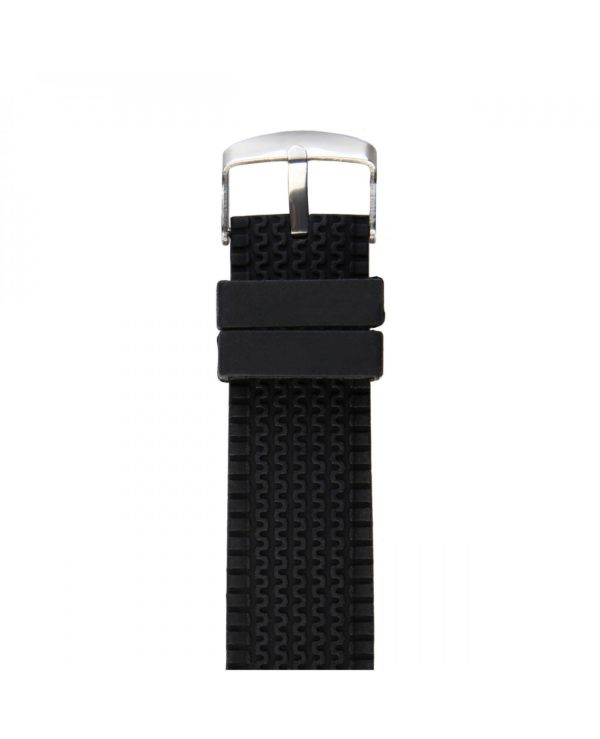 Sparco Jackie Black and Blue Watch Picture4: The sporty Jackie watch from Sparco accompanies you in your everyday life by providing an inimitable racing touch to your look. This model from Sparco is designed to complement differing outfits from sportswear to casual wear. The sporty design with a durable black strap is sure to impress.