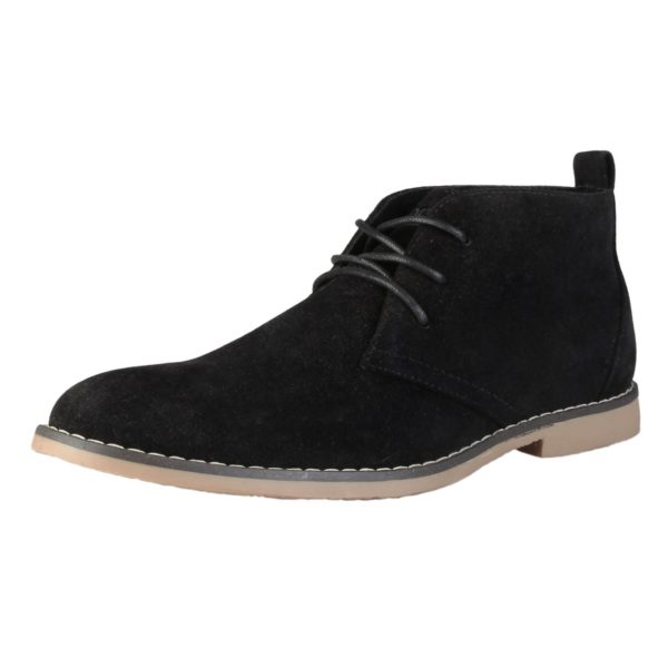 Sparco Suzuka Black Desert Boots Shoes Picture3: Designed for casual street durability and performance, Sparco Suzuka Black Ankle Boots is what you'd expect in a Casual Shoes. Unique style with increased comfort, pair with tailored pants and a casual shirt for the weekend.