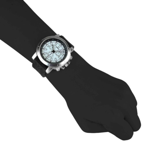 Sparco James Black Watch Picture2: The sporty James watch from Sparco accompanies you in your everyday life by providing an inimitable racing touch to your look. This model from Sparco is designed to complement differing outfits from sportswear to casual wear. The sporty design with a durable black strap is sure to impress.