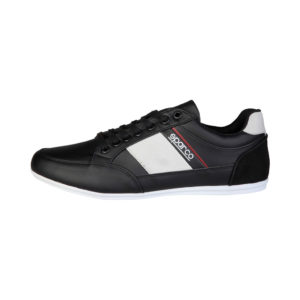 Sparco Shoes Cordoba Black Casual Sneakers Picture8: Designed for casual street durability and performance, Sparco Cordoba Black Shoes is what you'd expect in a Sport and Casual Sneakers. Unique style with increased comfort; quality materials that is suitable for smart and sporty man.