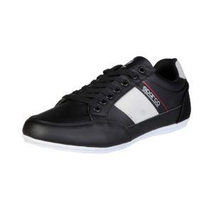 Sparco Shoes Cordoba Black Casual Sneakers Picture9: Designed for casual street durability and performance, Sparco Cordoba Black Shoes is what you'd expect in a Sport and Casual Sneakers. Unique style with increased comfort; quality materials that is suitable for smart and sporty man.