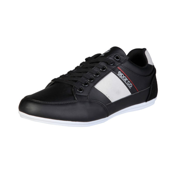 Sparco Shoes Cordoba Black Casual Sneakers Picture3: Designed for casual street durability and performance, Sparco Cordoba Black Shoes is what you'd expect in a Sport and Casual Sneakers. Unique style with increased comfort; quality materials that is suitable for smart and sporty man.