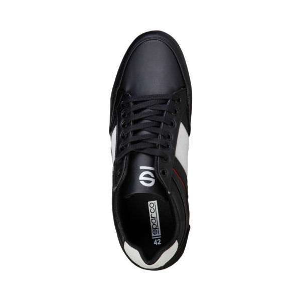 Sparco Shoes Cordoba Black Casual Sneakers Picture5: Designed for casual street durability and performance, Sparco Cordoba Black Shoes is what you'd expect in a Sport and Casual Sneakers. Unique style with increased comfort; quality materials that is suitable for smart and sporty man.