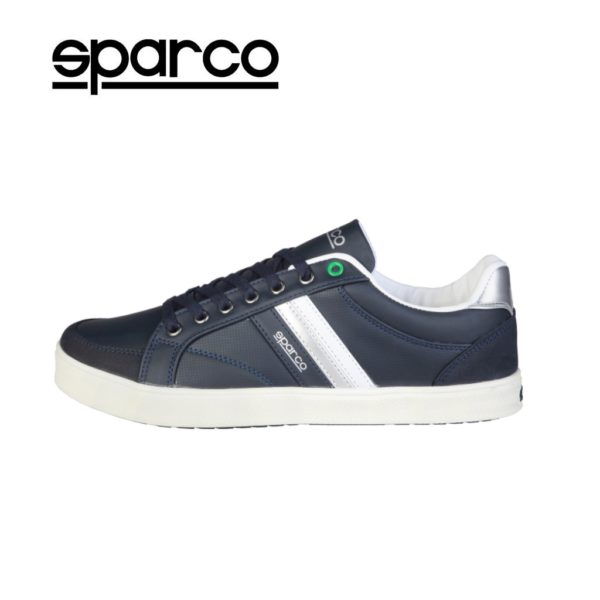 Sparco Wilmot Blue Shoes Casual Sneakers Picture5: Designed for casual street durability and performance, Sparco Wilmot Blue Shoes is what you'd expect in a Sport and Casual Sneakers. Unique style with increased comfort; quality materials that is suitable for smart and sporty man.