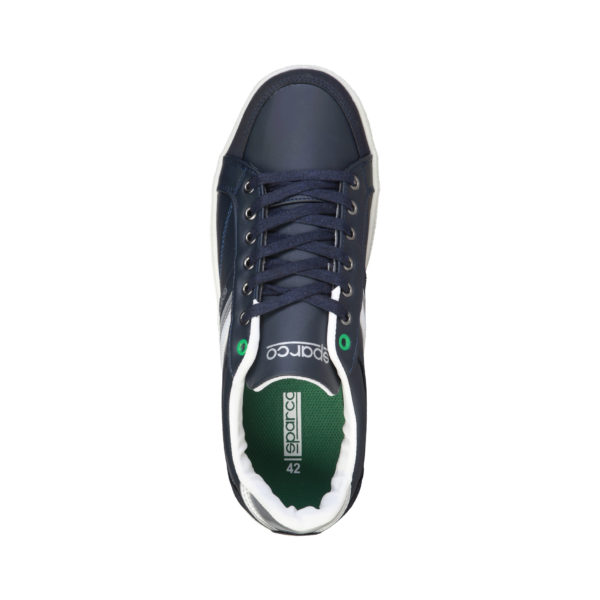 Sparco Wilmot Blue Shoes Casual Sneakers Picture2: Designed for casual street durability and performance, Sparco Wilmot Blue Shoes is what you'd expect in a Sport and Casual Sneakers. Unique style with increased comfort; quality materials that is suitable for smart and sporty man.