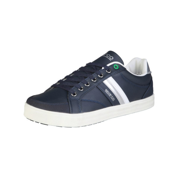 Sparco Wilmot Blue Shoes Casual Sneakers Picture3: Designed for casual street durability and performance, Sparco Wilmot Blue Shoes is what you'd expect in a Sport and Casual Sneakers. Unique style with increased comfort; quality materials that is suitable for smart and sporty man.