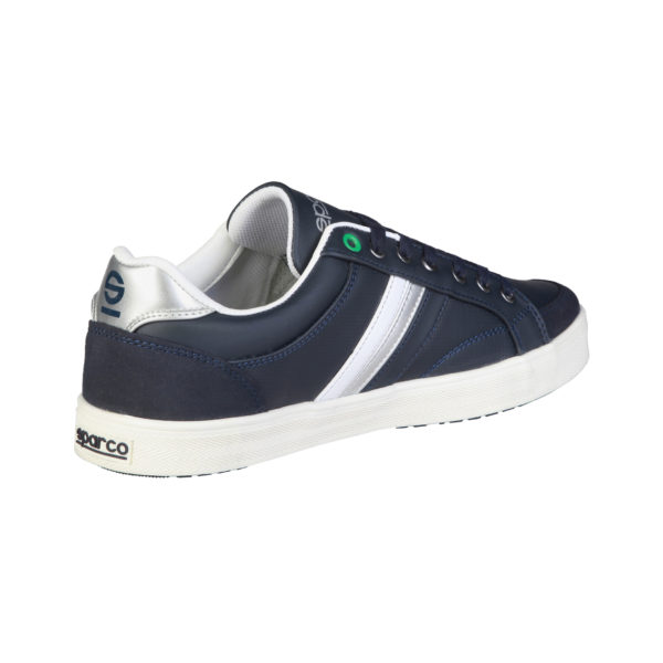 Sparco Wilmot Blue Shoes Casual Sneakers Picture4: Designed for casual street durability and performance, Sparco Wilmot Blue Shoes is what you'd expect in a Sport and Casual Sneakers. Unique style with increased comfort; quality materials that is suitable for smart and sporty man.