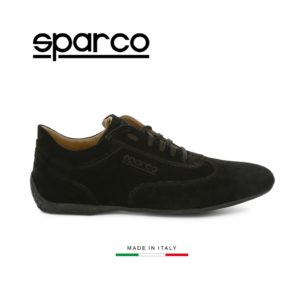 Sparco Imola-GP Black Shoes Sneakers in Suede Picture9: Designed for ultimate street durability and performance, Sparco Imola-GP Black Shoes is what you'd expect in a competition driving shoes. That is why these shoes/boots feature a thin sole for maximum pedal feel and control. The sole continues up the heel's back to provide a smooth and stable pivoting point for heel-toe shifting. Comfortable shoes/boots that can be used for everyday car and motorbike driving, touring, racing, karting and even sim racing.