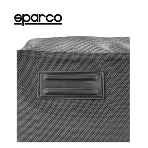 Sparco S6 Grey Travel Bag Picture14: Sparco S6 is a medium-size gym or travel bag with an adjustable and removable shoulder strap with a padded insert, two handles and more. The compact lightweight design has enough room to store your essentials featuring two handles, removable and adjustable shoulder strap with Sparco printed logo.