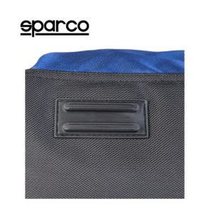 Sparco S6 Blue Travel Bag Picture15: Sparco S6 is a medium-size gym or travel bag with an adjustable and removable shoulder strap with a padded insert, two handles and more. The compact lightweight design has enough room to store your essentials featuring two handles, removable and adjustable shoulder strap with Sparco printed logo.