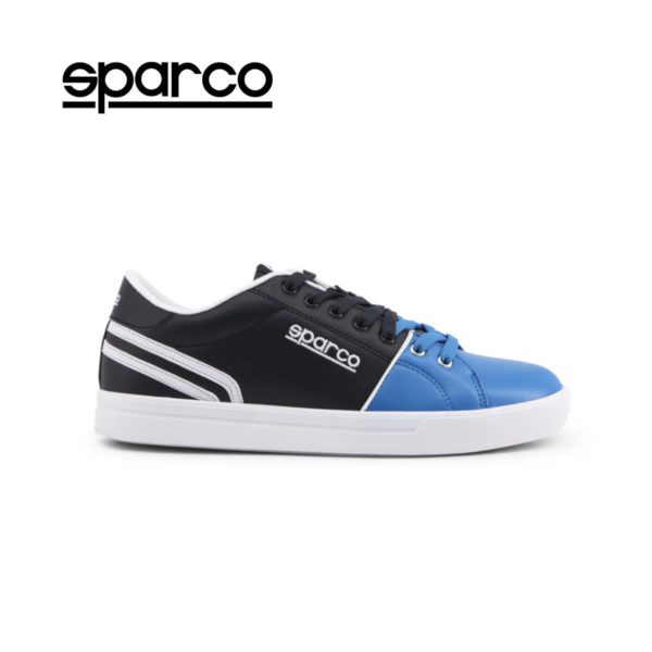 Sparco Vivaro Blue Shoes Casual Sneakers Picture1: Designed for casual street durability and performance, Sparco Vivaro Blue Shoes is what you'd expect in a Sport and Casual Sneakers. Unique style with increased comfort; quality materials that is suitable for smart and sporty man.