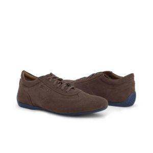 Sparco Imola-GPC Brown Shoes Sneakers in Suede Picture8: Designed for ultimate street durability and performance, Sparco Imola-GPC Brown Shoes is what you'd expect in a competition driving shoes. That is why these shoes/boots feature a thin sole for maximum pedal feel and control. The sole continues up the heel's back to provide a smooth and stable pivoting point for heel-toe shifting. Comfortable shoes/boots that can be used for everyday car and motorbike driving, touring, racing, karting and even sim racing.