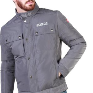 Sparco Berwick Grey Jacket Picture6: Stay warm this winter with Sparco collection of jackets for men, a great looking jacket for casual and sporty wear. Berwick jacket from Sparco will become a new wardrobe essential for you every winter, it creates a stylish and sporty look to any outfit.
