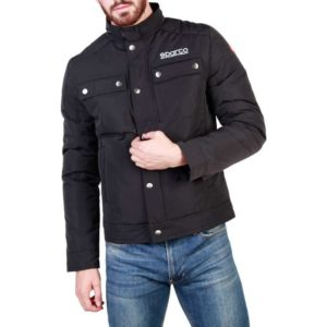 Sparco Berwick Black Jacket Picture4: Stay warm this winter with Sparco collection of jackets for men, a great looking jacket for casual and sporty wear. Berwick jacket from Sparco will become a new wardrobe essential for you every winter, it creates a stylish and sporty look to any outfit.
