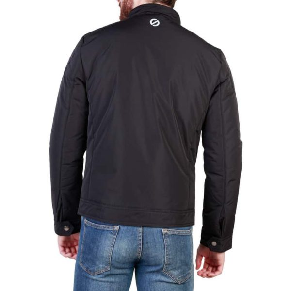 Sparco Berwick Black Jacket Picture2: Stay warm this winter with Sparco collection of jackets for men, a great looking jacket for casual and sporty wear. Berwick jacket from Sparco will become a new wardrobe essential for you every winter, it creates a stylish and sporty look to any outfit.