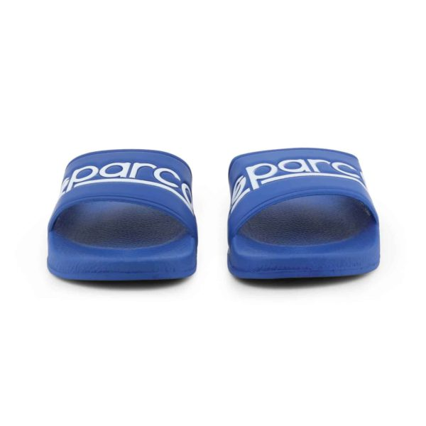Sparco Slippers Fortaleza Blue Flip Flops Picture3: Sparco Fortaleza Blue Flip Flops can be used casually and will be a perfect companion as you go about your busy life or during sports/racing events.