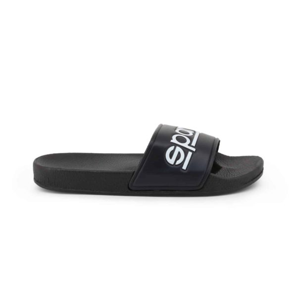 Sparco Slippers Fortaleza Black Flip Flops Picture1: Sparco Fortaleza Black Flip Flops can be used casually and will be a perfect companion as you go about your busy life or during sports/racing events.