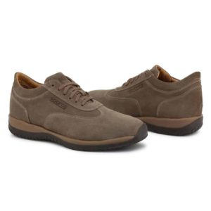 Sparco Imola-GP1 Brown Shoes Sneakers in Suede Picture8: Designed for ultimate street durability and performance, Sparco Imola-GP1 Brown Shoes is what you'd expect in a competition driving shoes. That is why these shoes/boots feature a grippy sole for maximum pedal feel and control. The sole continues up the heel's back to provide a smooth and stable pivoting point for heel-toe shifting. Comfortable shoes/boots that can be used for everyday car and motorbike driving, touring, racing, karting and even sim racing.