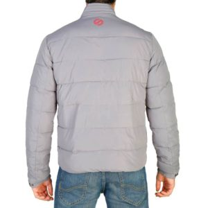 Sparco Indy Grey Jacket Picture7: Sparco Indy Grey Jacket marked with Sparco logo; it comes in contrasting zip, 3 external pockets with snap buttons, ribbed waist and cuffs. Brilliant for casual outings and perfect companion as you go about your busy life or during sports and racing events.