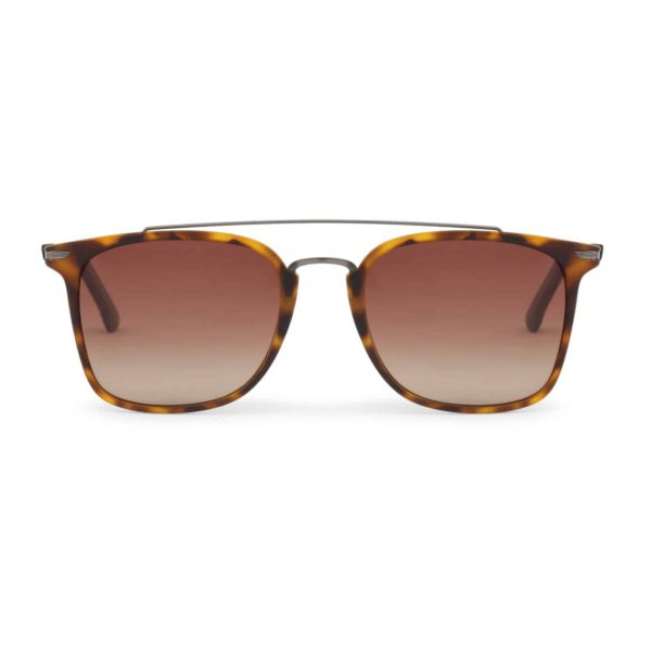 Sparco Podium Havana Brown Sunglasses with Brown Tint Lenses Picture1: Sparco Podium Brown Sunglasses are light, stylish, sporty and made in Italy by Sparco, a true piece of racing fashion. It comes with polarised lenses to protect your eyes. Sparco sunglasses are simple and trendy that can complete every outfit from sporty look to everyday glamorous style.