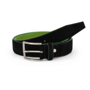 Sparco Derby Black Belt in Suede Picture2: Sparco Derby Black Belt in Suede marked with Sparco logo. Brilliant for casual outings and perfect companion as you go about your busy life or during sports and racing events.