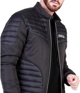 Sparco Bloomington Black Jacket Picture7: Stay warm this winter with Sparco collection of jackets for men, a great looking jacket for casual and sporty wear.