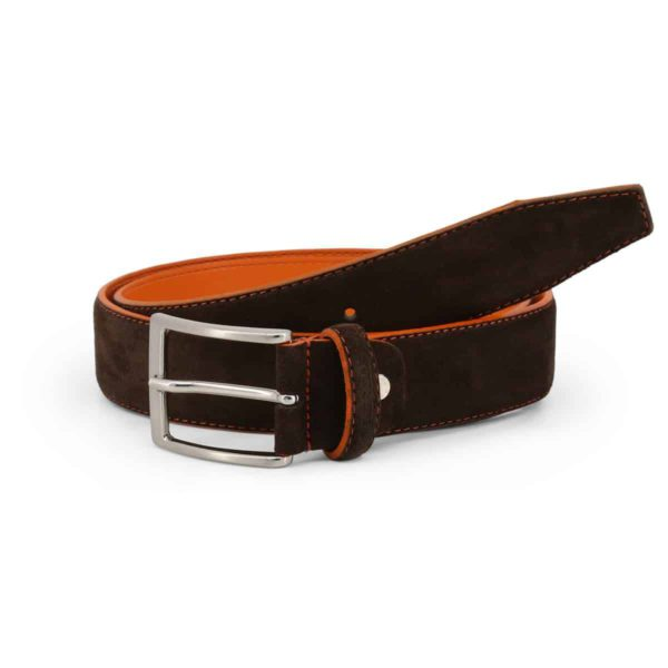 Sparco Derby Brown Belt in Suede Picture1: Sparco Derby Brown Belt in Suede marked with Sparco logo. Brilliant for casual outings and perfect companion as you go about your busy life or during sports and racing events.