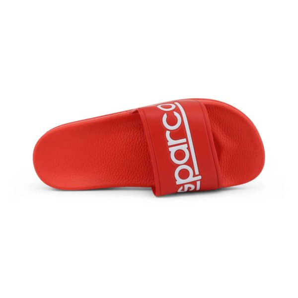Sparco Slippers Fortaleza Red Flip Flops Picture4: Sparco Fortaleza Red Flip Flops can be used casually and will be a perfect companion as you go about your busy life or during sports/racing events.