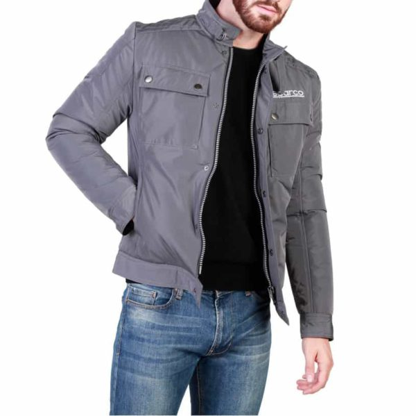 Sparco Berwick Grey Jacket Picture1: Stay warm this winter with Sparco collection of jackets for men, a great looking jacket for casual and sporty wear. Berwick jacket from Sparco will become a new wardrobe essential for you every winter, it creates a stylish and sporty look to any outfit.