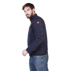 Sparco Berwick Blue Jacket Picture12: Stay warm this winter with Sparco collection of jackets for men, a great looking jacket for casual and sporty wear. Berwick jacket from Sparco will become a new wardrobe essential for you every winter, it creates a stylish and sporty look to any outfit.