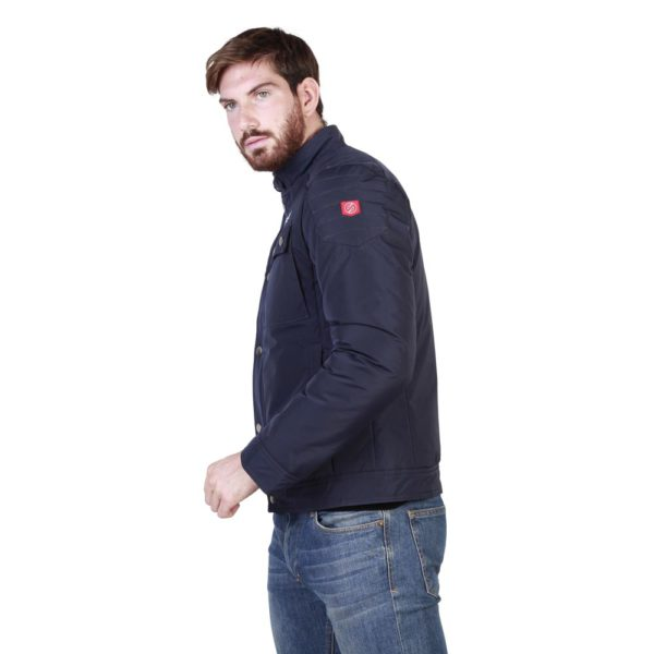 Sparco Berwick Blue Jacket Picture5: Stay warm this winter with Sparco collection of jackets for men, a great looking jacket for casual and sporty wear. Berwick jacket from Sparco will become a new wardrobe essential for you every winter, it creates a stylish and sporty look to any outfit.