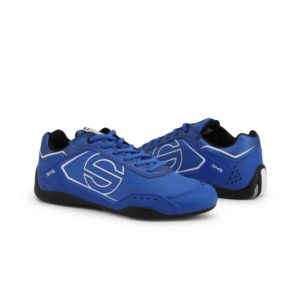 Sparco SP-F5 Blue Shoes Sneakers in Leather Picture8: Designed for ultimate street durability and performance, Sparco SP-F5 Blue Shoes is what you'd expect in a competition driving shoes. That is why these shoes/boots feature a thin sole for maximum pedal feel and control. The sole continues up the heel's back to provide a smooth and stable pivoting point for heel-toe shifting. Comfortable shoes/boots that can be used for everyday car and motorbike driving, touring, racing, karting and even sim racing.