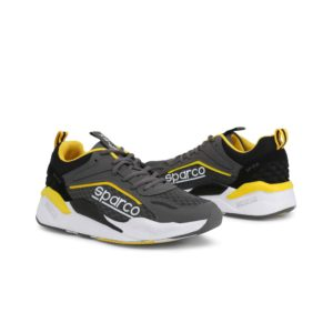 Sparco SP-FX Grey/Yellow Shoes Sneakers Picture8: Designed for ultimate street durability and performance, Sparco SP-FX Grey/Yellow Shoes is ideal for everyday driving, casual outing and training. From the experience of 4 wheels to the world of StreetStyle, these sneakers combine technology and urban design to give you maximum comfort. With a breathable upper, ultraflex+ sole and stabiliser band, your feet will always be in pole position.