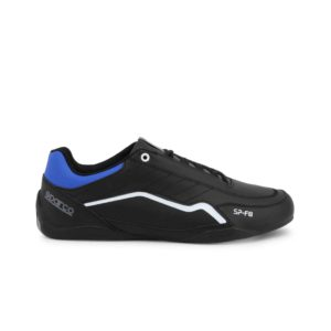 Sparco SP-F8 Black Shoes Sneakers Picture6: Designed for ultimate street durability and performance, Sparco SP-F8 Black Shoes is what you'd expect in a competition driving shoes. That is why these shoes/boots feature a thin sole for maximum pedal feel and control. The sole continues up the heel's back to provide a smooth and stable pivoting point for heel-toe shifting. Comfortable shoes/boots that can be used for everyday car and motorbike driving, touring, racing, karting and even sim racing.