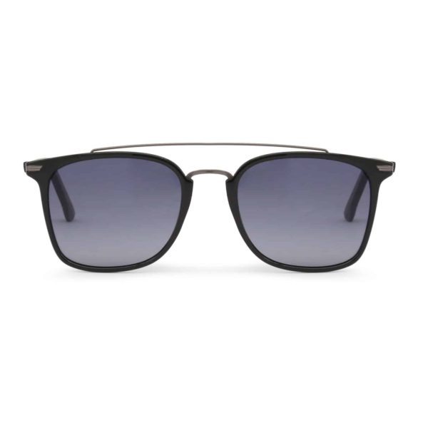 Sparco Podium Black Sunglasses with Black Tint Lenses Picture1: Sparco Podium Black Sunglasses are light, stylish, sporty and made in Italy by Sparco, a true piece of racing fashion. It comes with polarised lenses to protect your eyes. Sparco sunglasses are simple and trendy that can complete every outfit from sporty look to everyday glamorous style.