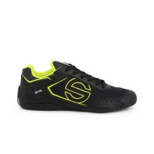 Sparco SP-F5 Black Shoes Sneakers in Leather Picture6: Designed for ultimate street durability and performance, Sparco SP-F5 Black Shoes is what you'd expect in a competition driving shoes. That is why these shoes/boots feature a thin sole for maximum pedal feel and control. The sole continues up the heel's back to provide a smooth and stable pivoting point for heel-toe shifting. Comfortable shoes/boots that can be used for everyday car and motorbike driving, touring, racing, karting and even sim racing.