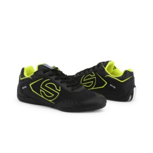 Sparco SP-F5 Black Shoes Sneakers in Leather Picture8: Designed for ultimate street durability and performance, Sparco SP-F5 Black Shoes is what you'd expect in a competition driving shoes. That is why these shoes/boots feature a thin sole for maximum pedal feel and control. The sole continues up the heel's back to provide a smooth and stable pivoting point for heel-toe shifting. Comfortable shoes/boots that can be used for everyday car and motorbike driving, touring, racing, karting and even sim racing.