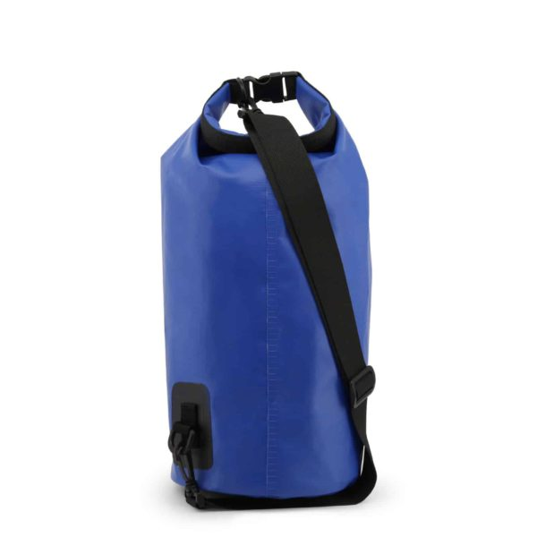 Sparco GTR Blue Waterproof Dry Bag Sack Picture4: Sparco GTR is a Waterproof Dry Bag/Sack for travel, gym or commute on your motorcycle or bike with an adjustable and removable shoulder strap. The compact lightweight design has enough room to store your essentials featuring a handle, removable and adjustable shoulder strap with Sparco printed logo.