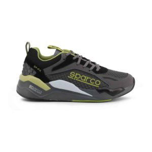 Sparco SP-FX Grey/Green Shoes Sneakers Picture6: Designed for ultimate street durability and performance, Sparco SP-FX Grey/Green Shoes is ideal for everyday driving, casual outing and training. From the experience of 4 wheels to the world of StreetStyle, these sneakers combine technology and urban design to give you maximum comfort. With a breathable upper, ultraflex+ sole and stabiliser band, your feet will always be in pole position.