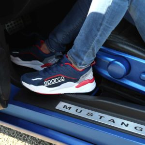 Sparco SP-FX Navy/Red Shoes Sneakers Picture7: Designed for ultimate street durability and performance, Sparco SP-FX Navy/Red Shoes is ideal for everyday driving, casual outing and training. From the experience of 4 wheels to the world of StreetStyle, these sneakers combine technology and urban design to give you maximum comfort. With a breathable upper, ultraflex+ sole and stabiliser band, your feet will always be in pole position.